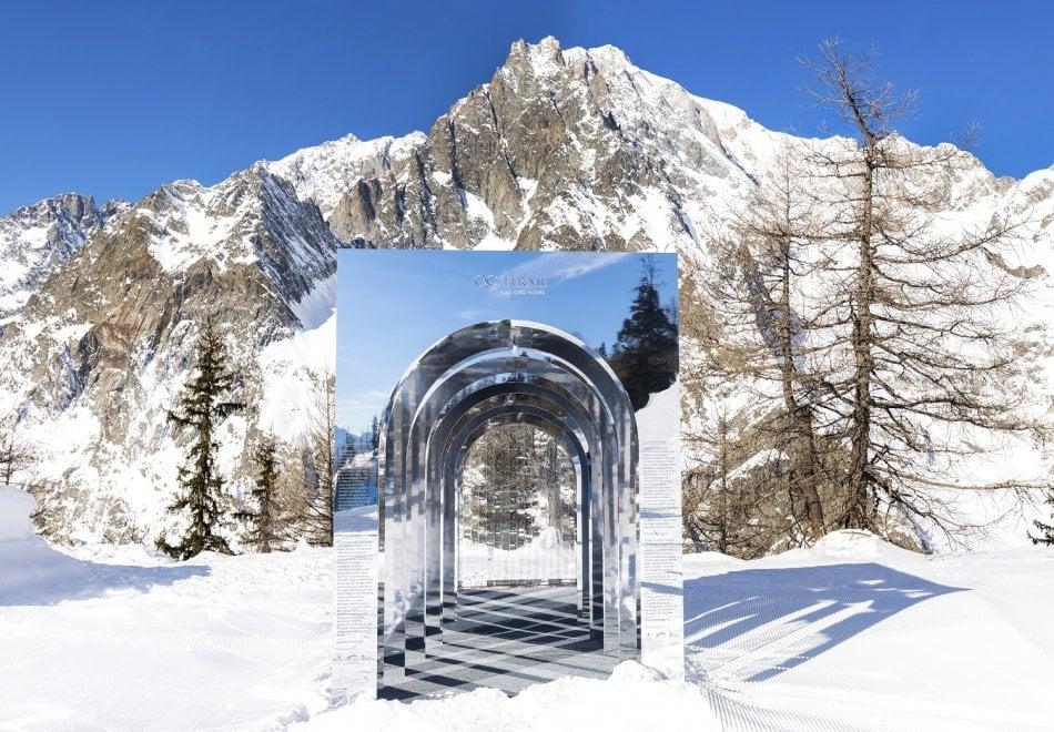 Courmayeur un 39 opera d 39 arte sulle piste di sci il - Residence sulle piste da sci con piscina ...