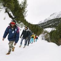La lunga marcia dei migranti verso il fronte occidentale