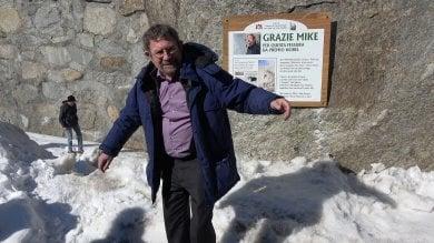 """Il Premio Nobel torna fra le montagne  che saliva quando era studente a Torino   Video/ Il ritorno alla """"fessura Kosterlitz"""""""