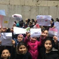 Torino, cento bambini di origine araba cantano l'inno di Mameli davanti