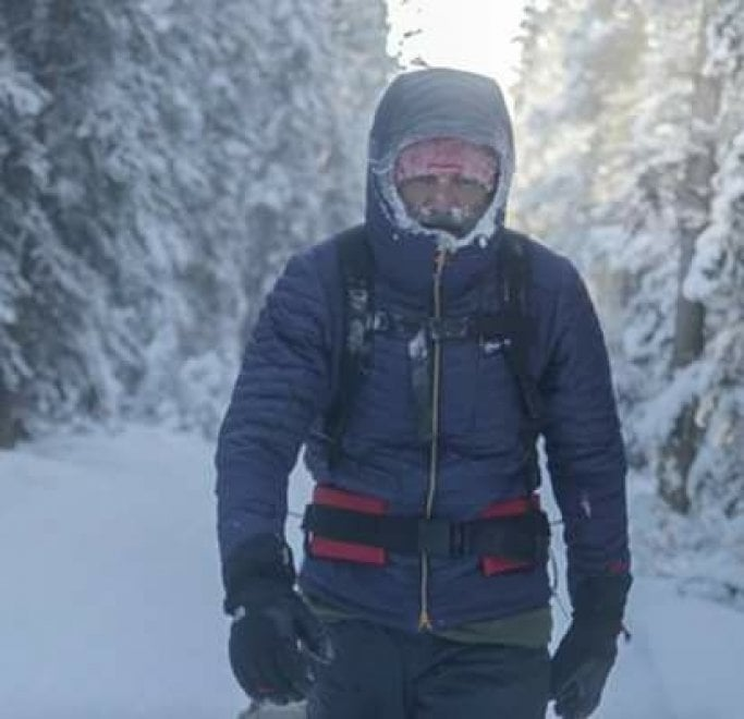 Roberto Zanda, l'ultratrailer sardo dai deserti ai ghiacci dello Yukon