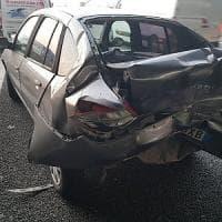 Torino, sette macchine coinvolte in due incidenti  in tangenziale