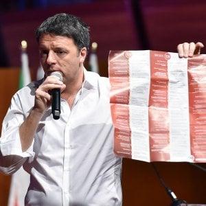 """Renzi al Lingotto: """"Sono ottimista, il clima sta cambiando giorno dopo giorno"""""""