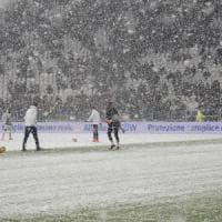 Emergenza neve: chiusi valichi alpini, rinviata Juve-Atalanta. Domani a