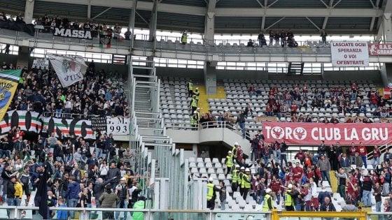 Botte tra ultras nel derby di Torino: emessi 7 Daspo dal Questore