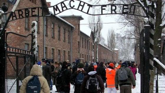 """""""Ad Auschwitz solo guide polacche"""": minacciato a Cracovia operatore di Cuneo"""