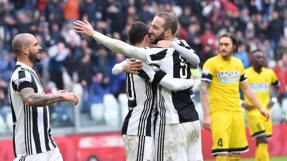 Juventus-Udinese 2-0, una doppietta di Dybala stende i friulani