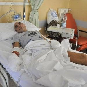 "Aosta, amputati i piedi all'ironman Zanda, lui rincuora i fan: ""Sto bene"""