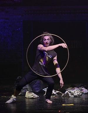 Da Bristol a Torino per l'hula hoop