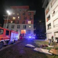Incendio in un alloggio dell'Ex Moi, le fiamme circoscritte in un'ora