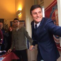 Al Museo del Torino ressa per la mostra dedicata a Javier Zanetti