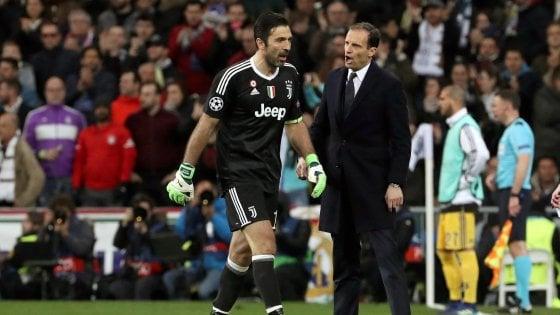 Juventus, Allegri: ''Madrid è il passato, ora prendiamoci scudetto e coppa Italia''