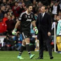 Juventus, Allegri: ''Madrid è il passato, ora prendiamoci scudetto e coppa