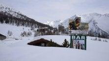 Metà aprile come fosse Natale, Sestriere sepolta da due metri di neve
