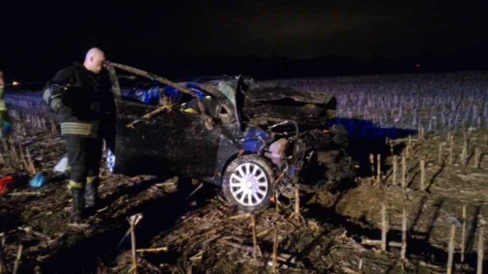 Le immagini dell'incidente sull'A5