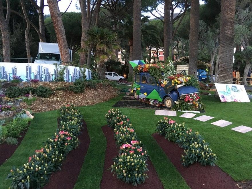 La natura che si ribella all'uomo: ecco il giardino del Piemonte a Euroflora