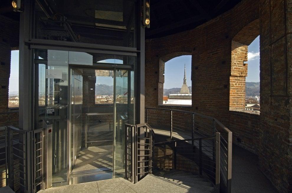 Palazzo Madama, ecco il nuovo ascensore con vista (a 360 gradi)