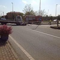 Rondissone, motociclista muore nello scontro con un carro attrezzi