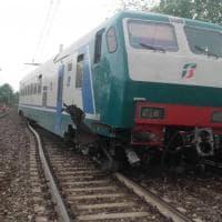 Ecco le immagini dell'incidente ferroviario nel Cuneese