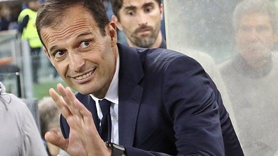 """Juventus, Allegri: """"Vinciamo lo scudetto a Roma e andiamo in vacanza una settimana prima"""""""