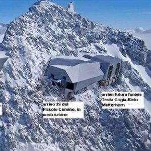 Pronto il progetto della superfunivia che collegherà Cervinia a Zermatt