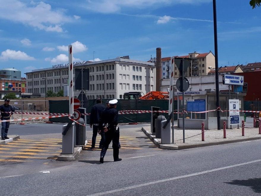Torino, bomba dell'ultima guerra nel cantiere vicino a Eataly