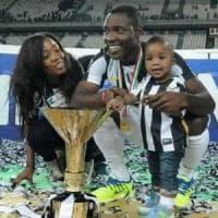 Juve, l'addio di Asamoah: