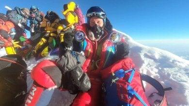 Cheli, astronauta italiano in cima all'Everest: