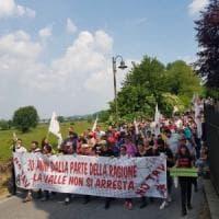 E  migliaia di No Tav tornano a manifestare in Valsusa: