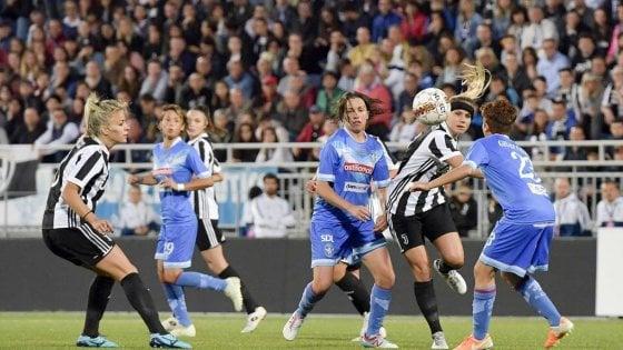 La Juventus vince anche al femminile, è scudetto nello spare