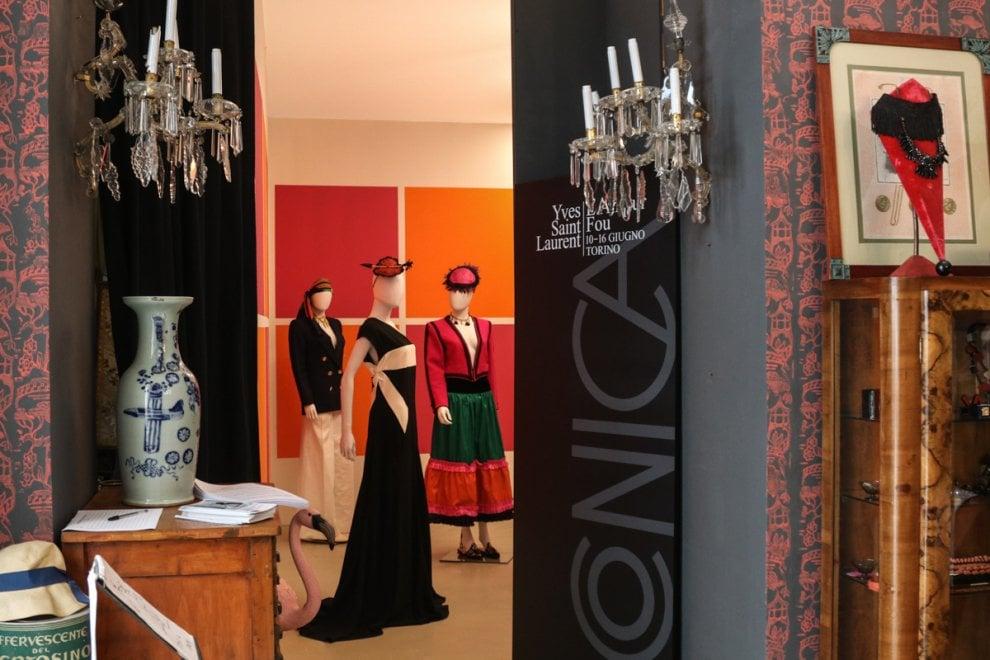 A Iconica Torino celebra Yves Saint Laurent, il grande sarto artista