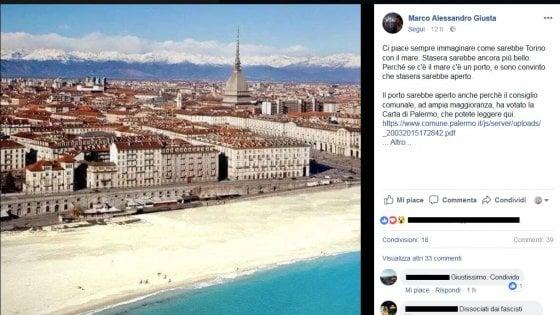 Torino giusta su facebook se la citt avesse il mare for Il porto torino