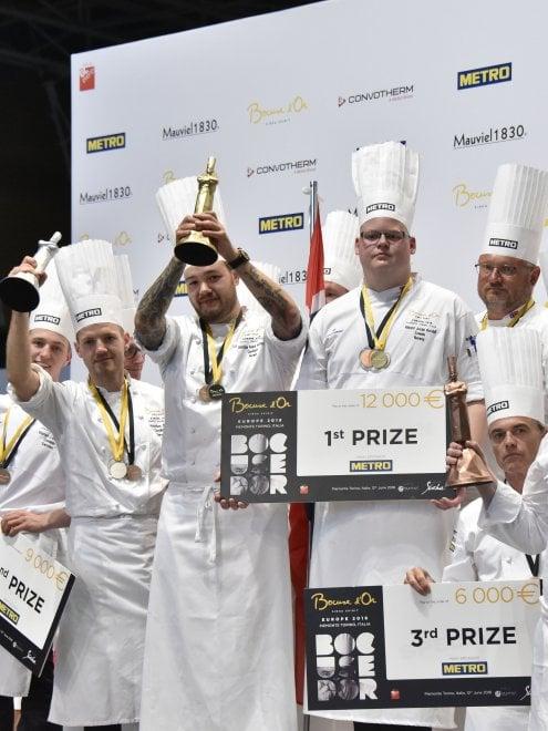 Bocuse d'Or vince la Norvegia, l'Italia ripescata va a Lione