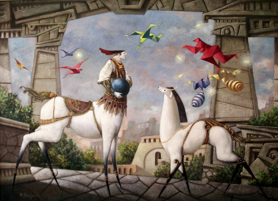"""""""Circhi e serragli"""", in mostra alle Serre il bestiario fantastico di Forgione"""