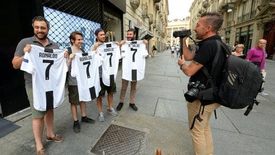 Torino, effetto Ronaldo: sui social un milione di follower in più per la Juve. Dopo il boom il titolo in Borsa cede il 3%