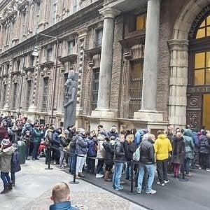 Musei piemontesi: nei primi 4 mesi dell'anno l'8 per cento di ingressi in meno