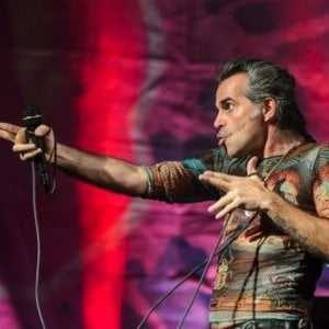 Piero Pelù live al Gruvillage, Borgiallo Blues Festival