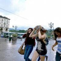 Piemonte, in arrivo forti temporali con rischio di grandinate