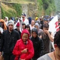 Val Susa, in mille in marcia al cantiere di Chiomonte per ribadire il