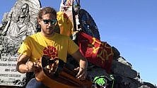 Con la ghironda in vetta al Monviso, il concerto più alto d'Europa