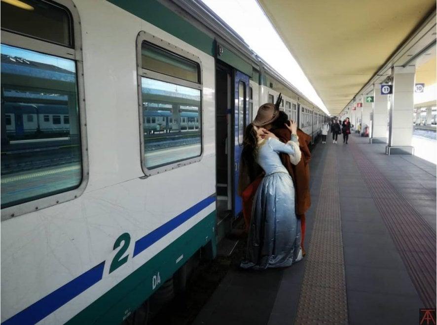 I protagonisti dei capolavori d'arte rivivono nelle foto di Torino