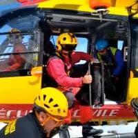 Aosta, il recupero dei tre alpinisti torinesi morti sul Monte Bianco