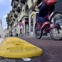Appendino twitta sulla ciclabile di via Nizza, i pedalatori le ricordano