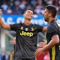 Chievo-Juventus 2-3, stadio esaurito e vittoria per Ronaldo: buona la prima in A di CR7
