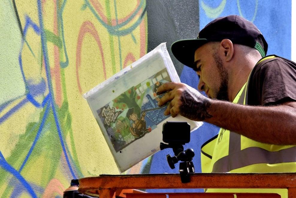 """La storia di don Bosco diventa """"street art"""""""