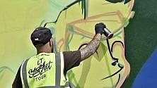 """La vita di don Bosco diventa """"street art"""""""