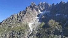 Monte Bianco, così muore un ghiacciaio: maxi-distacco per il caldo