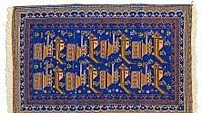 """I """"tappeti di guerra"""" dell'Afghanistan,  l'orrore tessuto  dalle artigiane nomadi"""