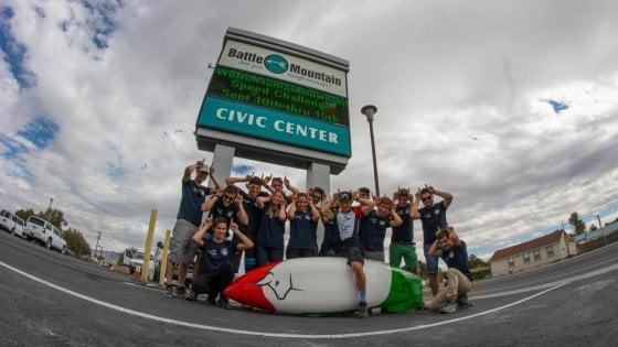 Uno studente del Politecnico di Torino tra i quattro uomini più veloci del mondo in bici