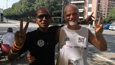 """Caporaso: """"Se lo sogni, puoi farlo. Ecco la mia sfida, 59 ultramaratone in 59 giorni """""""